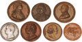 Militaria:Insignia, Medals: A Group of Seven Table Medals,... (Total: 7 Items)