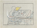 "Original Comic Art:Miscellaneous, Casper the Friendly Ghost ""Ghost of Honor"" StoryboardOriginal Art (Paramount, 1957)...."