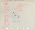 Animation Art:Production Drawing, Columbia Pictures Animation Publicity Drawing Original Art(Columbia, c. 1942)....