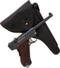 Handguns:Semiautomatic Pistol, Portuguese Mauser 1935/06 Luger Semi-Automatic Pistol withHolster.. ...