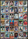 Hockey Cards:Lots, Hockey Greats Signed Cards Lot of 35....