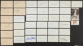 Autographs:Index Cards, Baseball Greats Signed Index Cards Lot of 39....