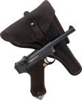 Handguns:Semiautomatic Pistol, Unit Marked German DWM Model 1920 Luger Semi-Automatic Pistol with Holster. ...