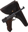Handguns:Semiautomatic Pistol, Portuguese 1906 Luger Semi-Automatic Pistol with Holster....