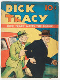 Golden Age (1938-1955):Cartoon Character, Large Feature Comic (Series I) #1 Dick Tracy (Dell, 1939)Condition: GD+....