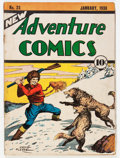 Golden Age (1938-1955):Miscellaneous, New Adventure Comics #23 (DC, 1938) Condition: GD+....