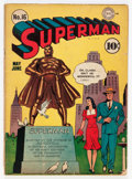 Golden Age (1938-1955):Superhero, Superman #16 (DC, 1942) Condition: GD/VG....