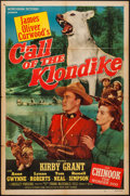 "Movie Posters:Adventure, Call of the Klondike (Monogram, 1950). One Sheet (27"" X 41"").Adventure.. ..."