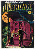 Golden Age (1938-1955):Horror, Adventures Into The Unknown #1 (ACG, 1948) Condition: VG....
