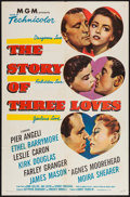 "Movie Posters:Romance, The Story of Three Loves (MGM, 1953). One Sheet (27"" X 41"") & Lobby Card Set of 8 (11"" X 14""). Romance.. ... (Total: 9 Items)"