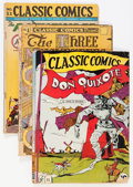Golden Age (1938-1955):Classics Illustrated, Classic Comics Group (Gilberton, 1940s).... (Total: 13 Comic Books)