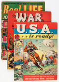 Golden Age (1938-1955):War, Miscellaneous Golden Age War, Western, and Real-Life Comics Group(Various Publishers, 1940s-50s).... (Total: 22 Comic Books)