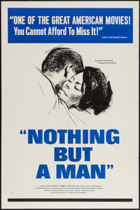 "Nothing But a Man (Cinema 5, 1964). One Sheet (27"" X 41""). Black Films"
