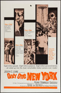 """Movie Posters:Documentary, Only One New York (Embassy, 1964). One Sheet (27"""" X 41""""). Documentary.. ..."""