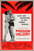 "Movie Posters:Sexploitation, Passion Holiday (Davis Film, 1963). One Sheet (27"" X 41"").Sexploitation.. ..."