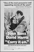"Movie Posters:Documentary, Carry It On (Maron Films, 1970). One Sheet (27"" X 41""). Documentary.. ..."