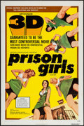 "Movie Posters:Bad Girl, Prison Girls (United Producers, 1972). One Sheet (27"" X 41"") 3-DStyle. Bad Girl.. ..."