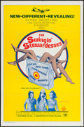 "Movie Posters:Sexploitation, The Swingin' Stewardesses & Other Lot (Hemisphere Pictures,1972). One Sheets (2) (27"" X 41""). Sexploitation.. ... (Total: 2Items)"