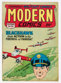 Golden Age (1938-1955):War, Modern Comics #66 (Quality, 1947) Condition: FN/VF....