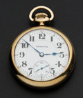 Timepieces:Pocket (post 1900), Hamilton Hamilton 17 Jewel Open Face Pocket Watch. ...