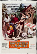 "Movie Posters:Sexploitation, Southern Comforts (Boxoffice International Pictures, 1971). TrimmedOne Sheet (26.75"" X 40.75""). Sexploitation.. ..."