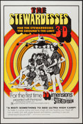 """Movie Posters:Adult, The Stewardesses (Sherpix, 1969). One Sheet (27"""" X 41"""") 3-D Style. Adult.. ..."""