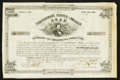 Confederate Notes:Group Lots, Two Confederate Bonds, a German Bond, New York State Stock Certificate and Two Israel Stock Certificated. . ... (Total: 6 items)