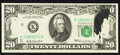 Error Notes:Ink Smears, Fr. 2067-K $20 1969 Federal Reserve Note. Choice CrispUncirculated.. ...