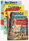 Golden Age (1938-1955):Cartoon Character, Four Color Bugs Bunny and Mickey Mouse Group (Dell, 1947-49) Condition: Average FN+.... (Total: 4 Comic Books)