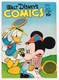 Golden Age (1938-1955):Cartoon Character, Walt Disney's Comics and Stories #49 (Dell, 1944) Condition:VG/FN....