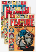 Golden Age (1938-1955):Miscellaneous, Feature Comics Group (Quality, 1944-47) Condition: Average FN+.... (Total: 6 Comic Books)