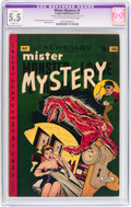 Golden Age (1938-1955):Horror, Mister Mystery #5 (Aragon, 1952) CGC Apparent FN- 5.5 Slight (A)Light tan to off-white pages....