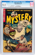 Golden Age (1938-1955):Horror, Mister Mystery #10 (Aragon, 1953) CGC VG+ 4.5 Off-white to whitepages....
