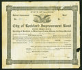 Miscellaneous:Other, Rockford, IL- City of Rockford Improvement Bond 5% June 4, 1927.....