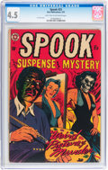 Golden Age (1938-1955):Horror, Spook #23 (Star Publications, 1953) CGC VG+ 4.5 Light tan tooff-white pages....