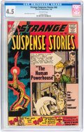 Silver Age (1956-1969):Horror, Strange Suspense Stories #48 (Charlton, 1960) CGC VG+ 4.5 Off-whitepages....