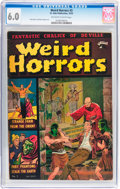 Golden Age (1938-1955):Horror, Weird Horrors #3 (St. John, 1952) CGC FN 6.0 Off-white to whitepages....
