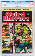 Golden Age (1938-1955):Horror, Weird Horrors #5 (St. John, 1952) CGC VF- 7.5 White pages....