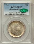 Commemorative Silver, 1926 50C Sesquicentennial MS65 PCGS. CAC....