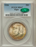 Commemorative Silver, 1936 50C Elgin MS67 PCGS. CAC....