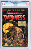 Golden Age (1938-1955):Horror, Adventures Into Darkness #7 (Standard, 1952) CGC VG/FN 5.0Off-white pages....