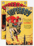 Golden Age (1938-1955):Superhero, Superboy #4 and 12 Group (DC, 1949-50) Condition: Average GD.... (Total: 2 Comic Books)