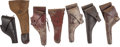 Arms Accessories:Holsters, Lot of Seven U.S. Military Flap Holsters.... (Total: 7 Items)
