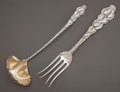 Silver Flatware, American:Tiffany, TWO TIFFANY & CO. AILANTHUS PATTERN SILVER SERVINGPIECES . Tiffany & Co., New York, New York, designed 1899.Ma... (Total: 2 )