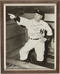 """Baseball Collectibles:Photos, Casey Stengel """"To Ruth"""" Signed Photograph...."""