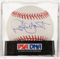 Autographs:Baseballs, Robin Yount Single Signed Baseball, PSA Mint+ 9.5.. ...