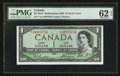 Canadian Currency: , BC-29aA $1 1954 Devil's Face Replacement. ...