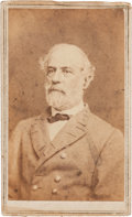 Miscellaneous:Ephemera, Robert E. Lee Carte de Visite Signed...