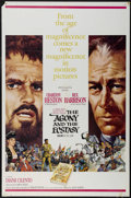"The Agony and the Ecstasy (20th Century Fox, 1965). One Sheet (27"" X 41""). Historical Drama. Directed by Carol..."