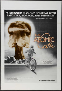 """The Atomic Cafe (Libra Films, 1982). One Sheet (27"""" X 41"""") Tri-folded. Documentary. Directed by Kevin Rafferty..."""
